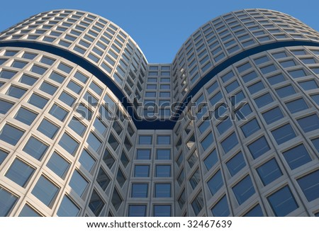 Curved Modern Architecture as Symbol of Corporate Identity