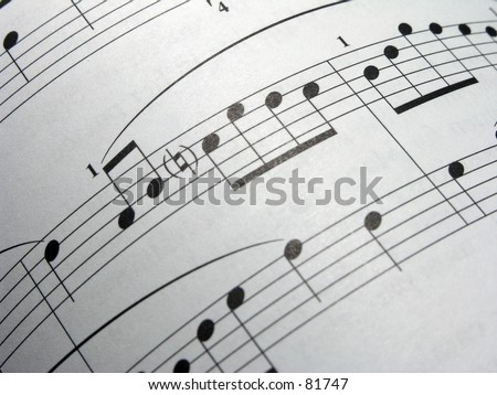 Curved Music Notes