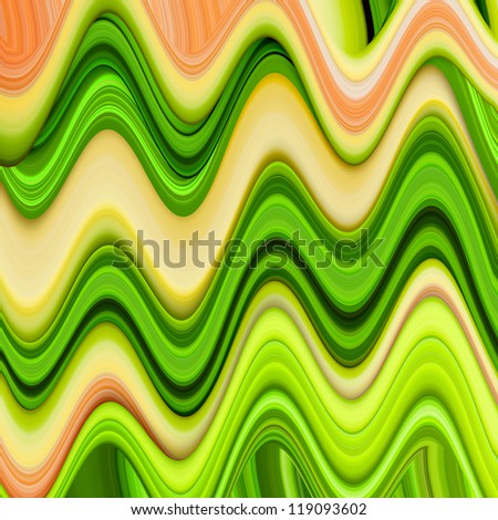 curved strips of colorful abstract background