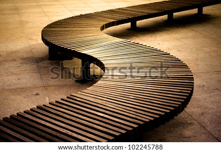 curved wooden bench plans