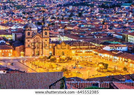 cusco  peru the historic...