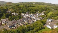 Cushendall Village Co Antrim Northern Ireland