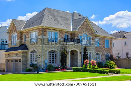 custom built luxury house  in...