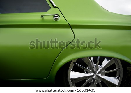 custom car detail