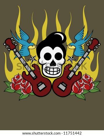 custom culture skull image