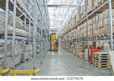 custom warehouse