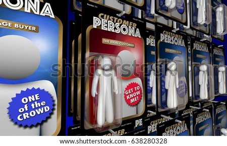 Shutterstock Customer Persona Targeting Best Ideal Buyer Action Figures 3d Illustration