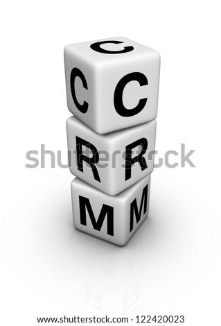 customer relationship management (CRM) symbol