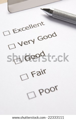 Eample Of Satisfaction Survey
