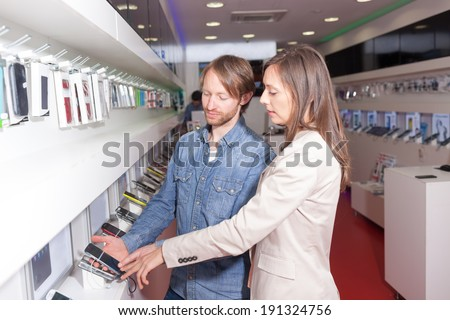 Customer service in phone shop