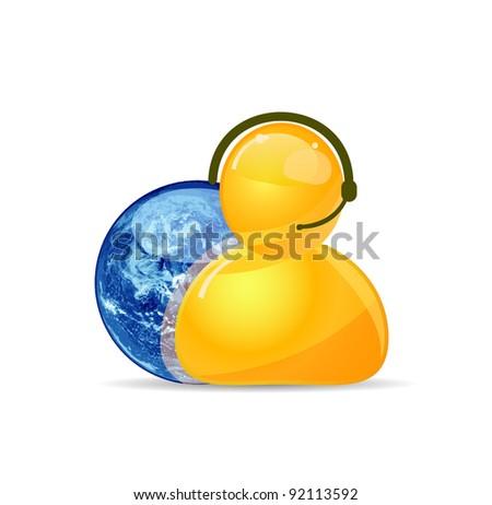 Customer Service Representative and Globe