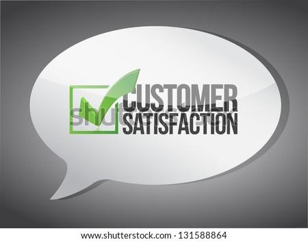 customer support message communication concept illustration design
