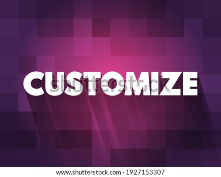 Customize text quote, concept background Foto stock ©