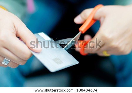 cut credit card