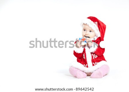 Free photos cute baby dressed as santa great for calender and cute baby dressed as santa great for calender and christmas greetings 89642542 m4hsunfo