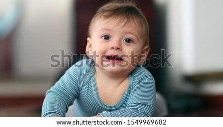 Cute baby toddler portrait face portrait.j