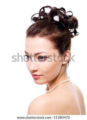 a style wedding hairstyle - on