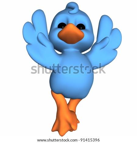 Cute Duck - Toon Figure