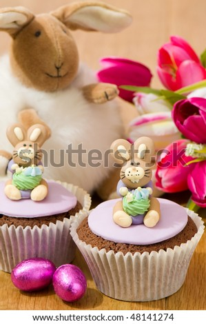 cute easter bunny pics. stock photo : Cute Easter