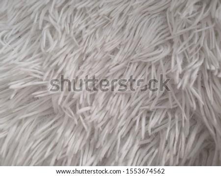Cute fluffy White nap plaid