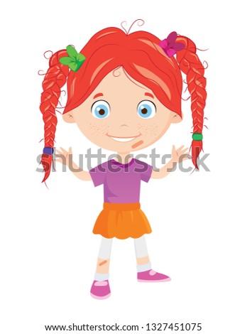 cute ginger girl