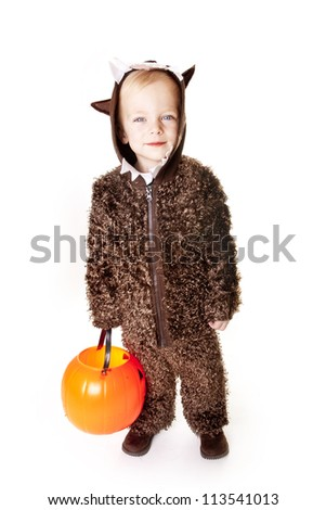 Cute Halloween Trick-or-Treater