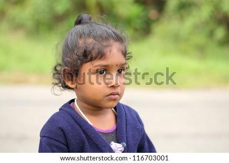 Cute Indian little girl