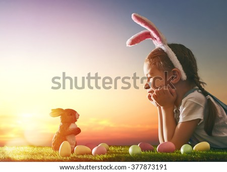 cute little child girl wearing...