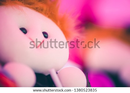 Cute little doll that the seller put on sale for congratulating graduation. #1380523835