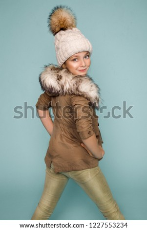55971cc9ab4d Free photos Fashion model in autumn winter clothes in hat posing in ...