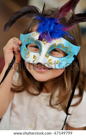 cute little girl portrait