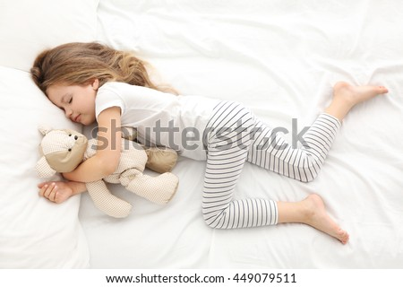 playing with little naked girls sleeping