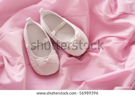 cute little girlie baby shoes