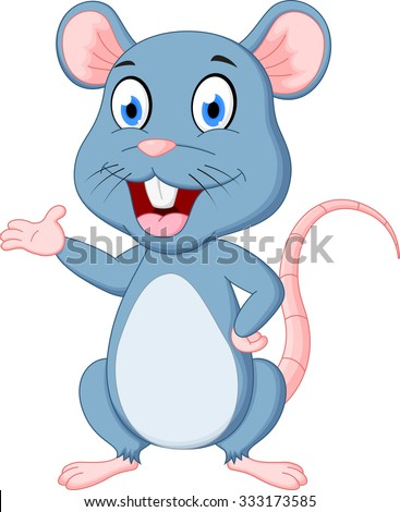 cute mouse cartoon