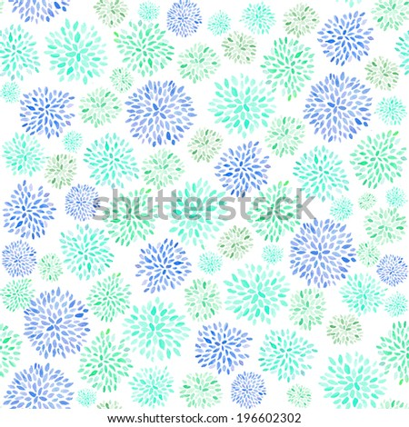 Cute Painted Floral Background. Fireworks Background. Fireworks Flowers Background. Painted Flower Background. Starburst Background