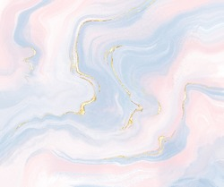 Cute pastel gold marble  colourful background.