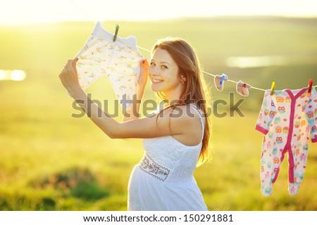 Pregnant - Happy expectation - Motherhood