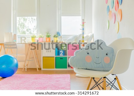 Cute room for little girl or boy #314291672