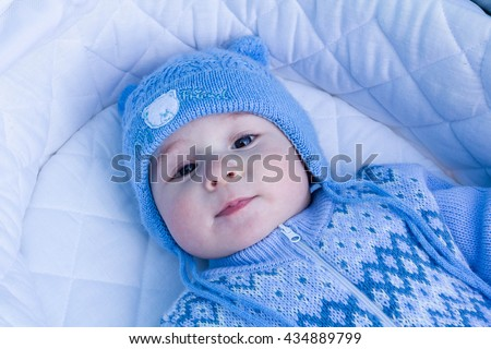 cute toddler boy in the blue...