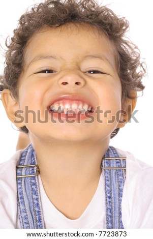 cute toddler smile