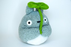 Cute Totoro anime stuffed toy for kids