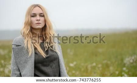 Cute teen girl in farm opinion