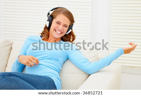 stock photo cute young teen listening to music on the headphones playing an guitar 36852721 ... Land admits to having sex with the dead woman, but that he paid her.