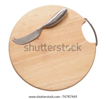 Cutting board. Isolated