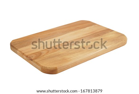 Shutterstock Cutting board isolated on white background