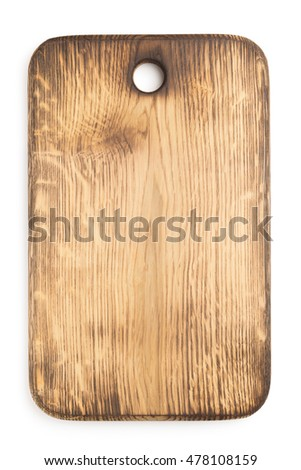 cutting board isolated on white background Stock photo ©