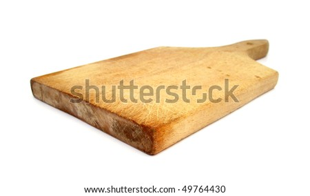 Cutting board wooden used