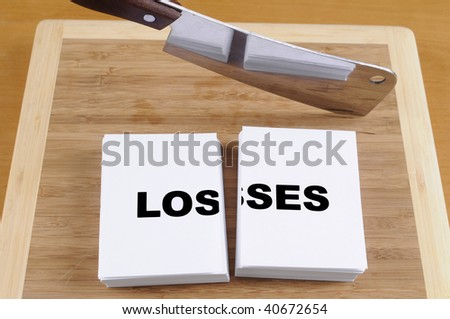 Cutting Your Losses with a Cleaver and Cutting Board.