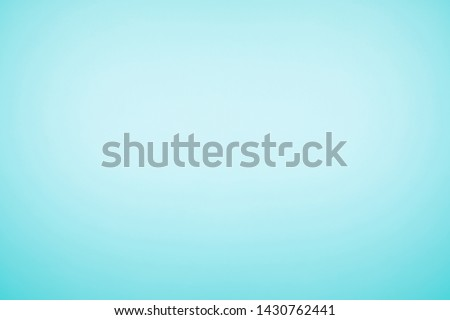 Cyan blue color with gradient glow light background . Stock photo ©