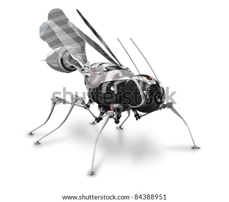 Cyber fly-mosquito front